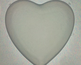 Flexible Resin Mold Large Heart Mould
