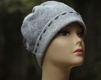 Beanie womens hat handmade gift ecofriendly accessory winter hat soft beanie gift ladies fall accessory handmade womens winter beanie hat