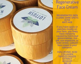 Anti wrinkle regenerative face cream