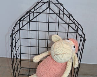 DOUDOU sheep 100% handmade