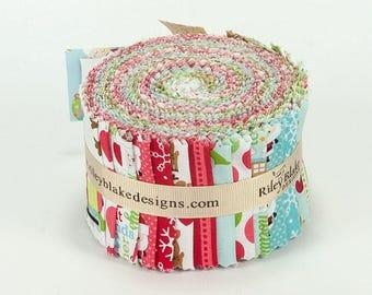 Riley Blake Designs, Rolie Polie - Santa Express by Doodlebug Designs inc.