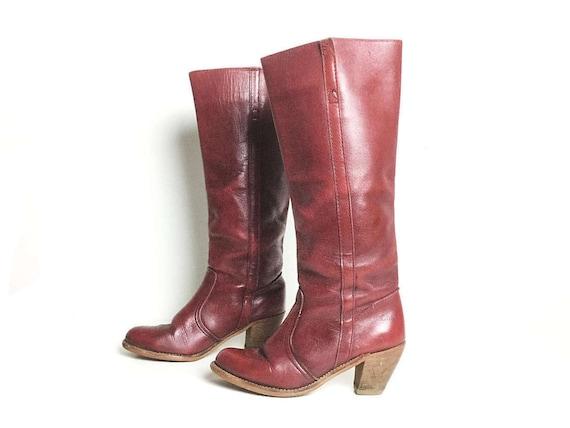 Boots 65 women's boots women's shoes boots size boots boots tall riding size boots boots boots boots leather brown vintage vintage 6 rwxrYqvdX