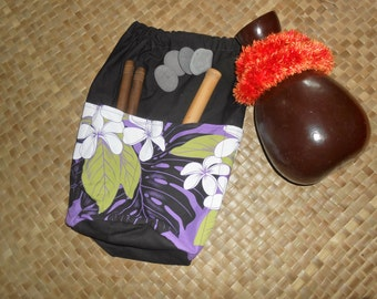 Hula implement bag in your choice of colors