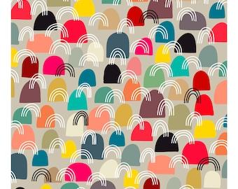 Little Boxes, Original Art Print, Abstract, Multicolor