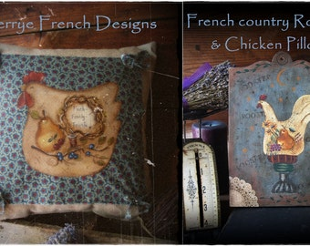 French Country Pillows by Terrye French email pattern packet