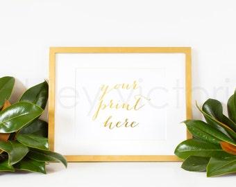 SET of 2 // Styled Gold Frame Photos // Digital Download