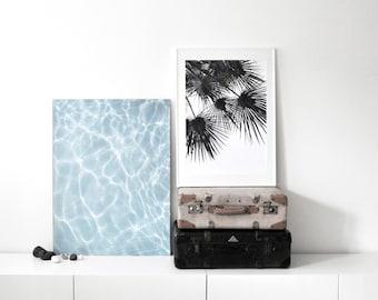 endless summer SET WIND & WATER Artprint A2 / A1 / 50 x 70 poster