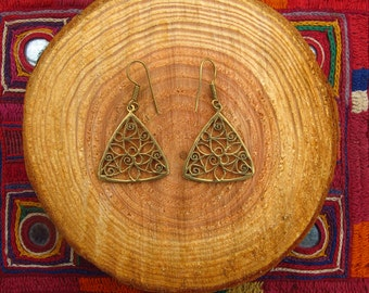 Earrings - Triangle
