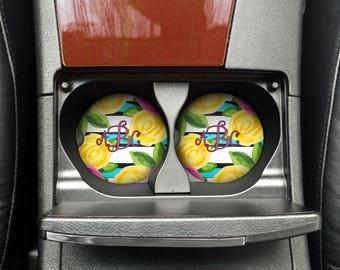 Set of 2 Sandstone Car Coasters