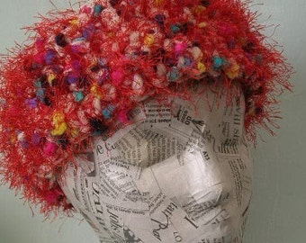 Easy Pillbox Hat  Crochet Pattern PDF  - permission to sell what you make