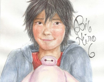 Hiro Hamada Big Hero 6 portrait