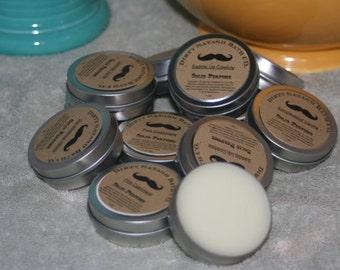 Coconut Lime Basil 1 oz tin Solid Perfume tin