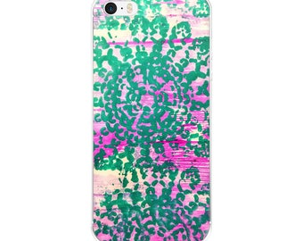 iPhone Case, mandala art