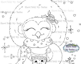 INSTANT DOWNLOAD Digital Digi Stamps Big Eye Big Head Dolls Digi Img490 By Sherri Baldy