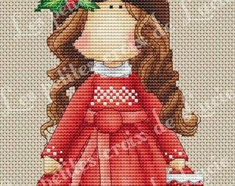 Cross stitch: Christmas Reindeer