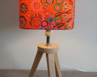 """Lampshade """"flowers"""", ambience, home decor"""