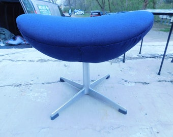 RARE Arne Jacobsen for Fritz Hansen Egg Chair Ottoman