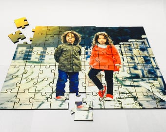 Custom Laser-Cut Puzzle From Your Photograph or Image. Wooden. Various Sizes.