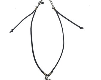 Andy Adjustable Choker Necklace