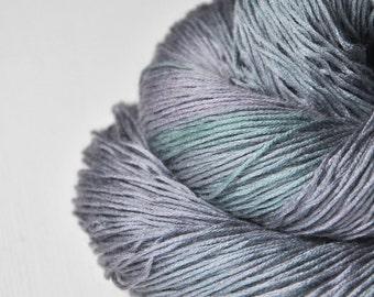 Army of the Dead - Silk / Cashmere Lace Yarn - Hand Dyed Yarn - handgefärbte Wolle - DyeForYarn