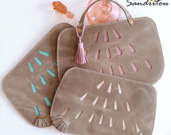 LOLI genuine leather clutch / pochette