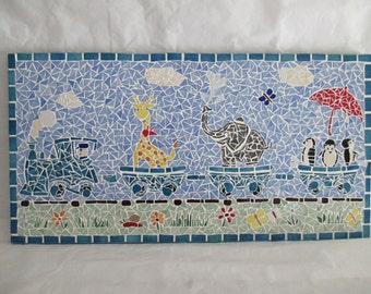 Mosaic table for children