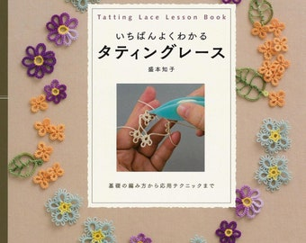 Simple way to learn Tatting Lace - Japanese Craft Book
