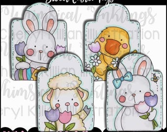 Sweet Easter Tags  - Immediate Download