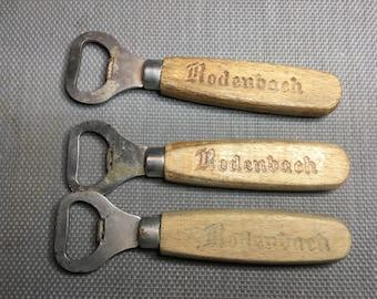3x Rodenbach Beer Opener, Belgian Beer Bottle opener