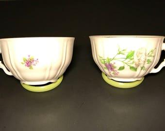 Fine Bohemian China teacups