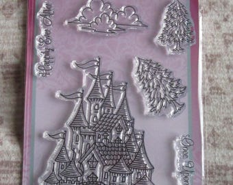 Sweet Dixie Clear Stamps Fantasy Castle