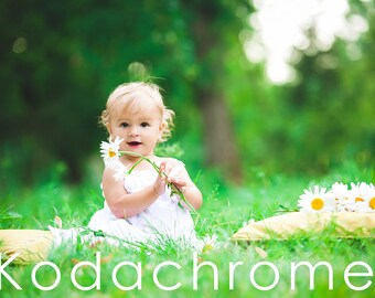 Kodachrome Lightroom Presets - 10 Retro Film Presets - Adobe Lightroom Presets for 4, 5, 6 and CC