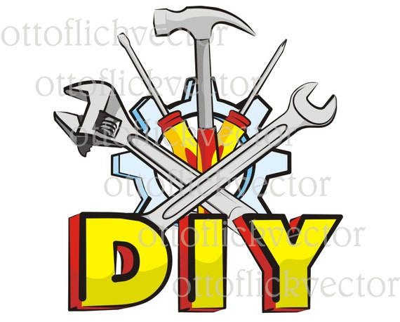 Handyman diy vector clipart do it yourself tools eps ai cdr png handyman diy vector clipart do it yourself tools eps ai cdr png jpg handy mechanic equipment hammer wrench screwdriver from ottoflickvector on solutioingenieria Images