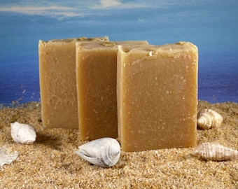 Honey Oatmeal Soap / Unscented Soap, Dry Skin Soap, Honey Soap, Sample Soap, Eczema Soap, Face Soap, Sensitive Skin Soap, Mini Soap