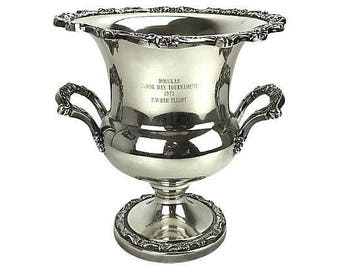 Silver-Plate Champagne/Wine Bucket