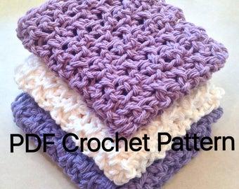 Dishcloth PATTERN Crochet