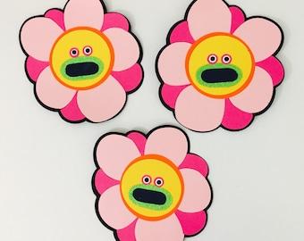 Trolls Singing Flowers Cutout