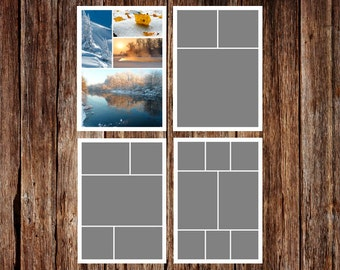 Collage template | Etsy