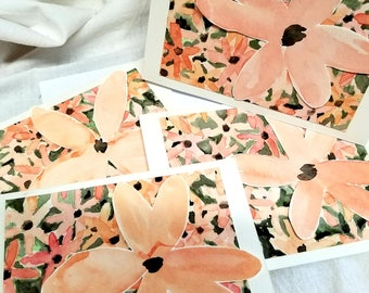 Floral - Original Art Note Cards