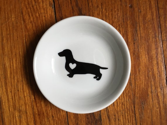 Dachshund | Ring Dish | Engagement Gift | Jewelry Dish | Wiener dog