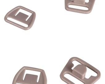SALE Tan Nursing Clips - 14mm - 10 Sets (PM14BN2-10)