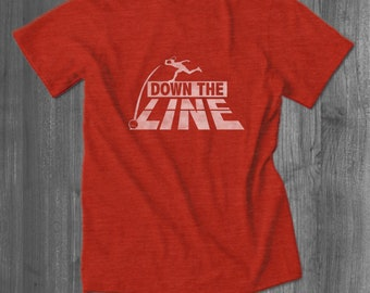 Down the Line Tennis T Shirt tops and tees t-shirts t shirts| Free Shipping