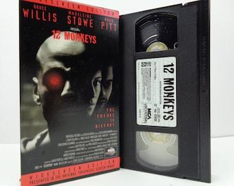 12 Monkeys VHS Tape