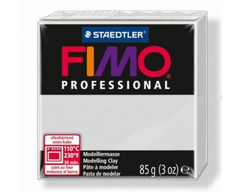 Fimo clay Professional grey Dolphin 80-85gr