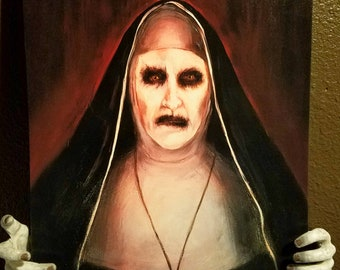 The Conjuring Nun Painting