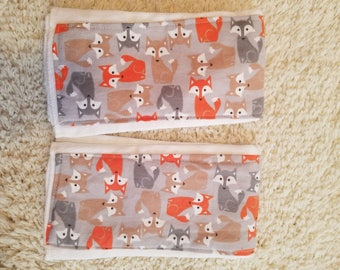 fox Burp Cloth 2 pack