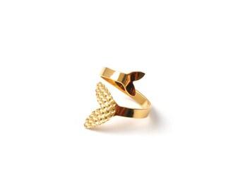 NAIAD gold plated ring
