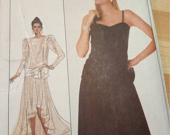 Simplicity 8352 Evening dress pattern size 12 to 16