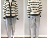 Vintage 40s knit cardigan...