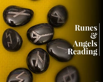Runes and Angels Reading 15- 60 Min Voice Recording